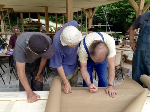 Chantier plancher et isolation du 11 au 15 Juillet 2016
