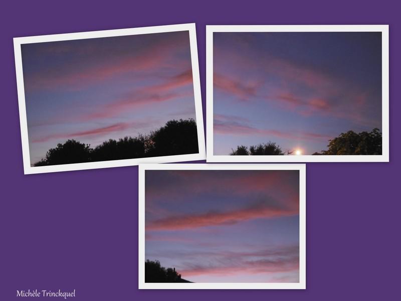 Le ciel au matin du 1er octobre....