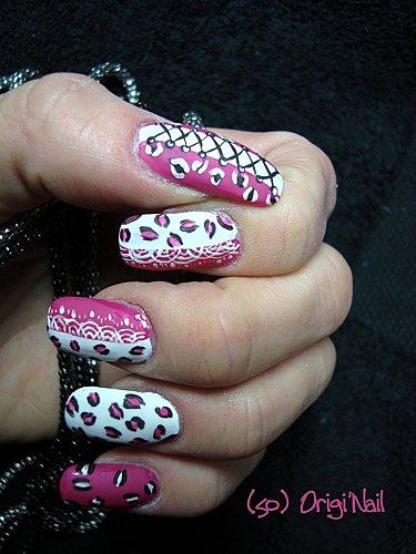 léopard girly matte