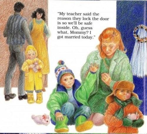 """➤ """"Don't Make Me Go Back, Mommy"""": Un terrifiant livre pour enfants sur les abus rituels sataniques"""
