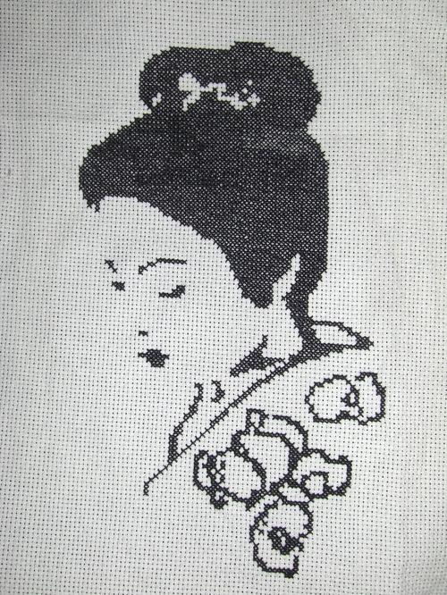Geisha terminée