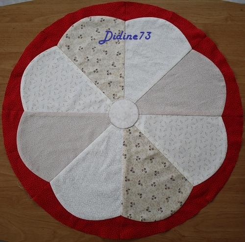 Mon tapis de sapin - étape 1