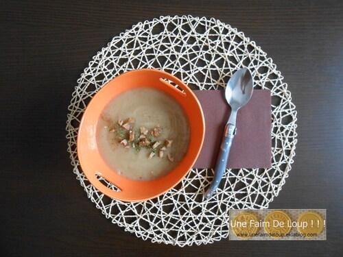 Velouté de panais aux marrons