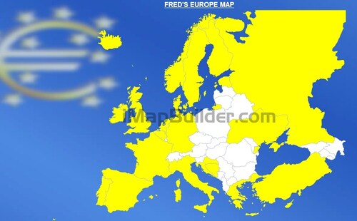 FRED'S EUROPE MAP