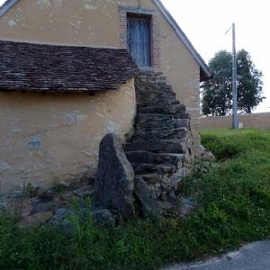 J'adore la pierre donc impossible de ne pas prendre cette maison en photo