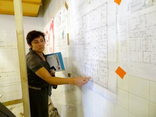 Visite de l'hôpital avec les usagers du CHI de Châtillon sur Seine