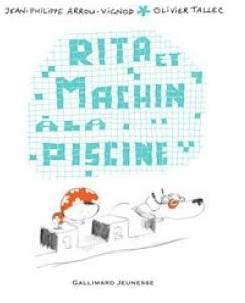 Rita et Machin à la piscine.