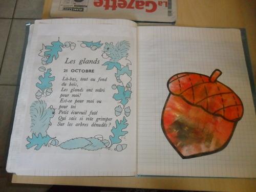 Mon cahier....