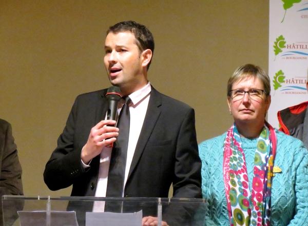 Le Président de la Communauté de Communes, Jérémie Brigand, a présenté ses vœux pour 2020 aux habitants du Pays Châtillonnais