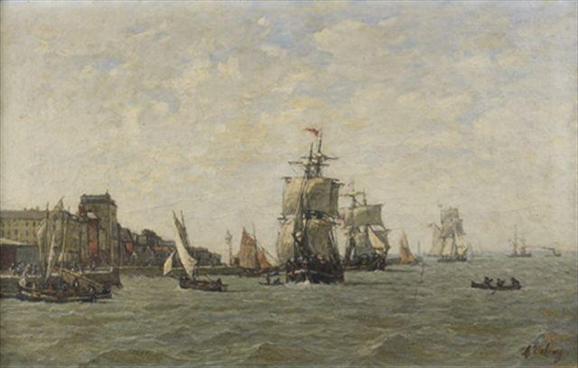 navire_pres_d_un_port
