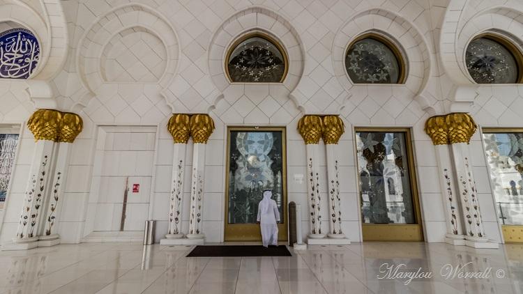 Abu Dhabi : Mosquée 4/ (Salle de prière)