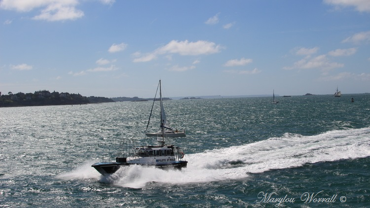 Bretagne : Saint-Malo, Voiliers