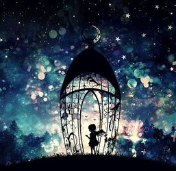 Image de angel, night, and art