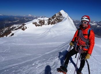 Alpinisme au Mont Rose