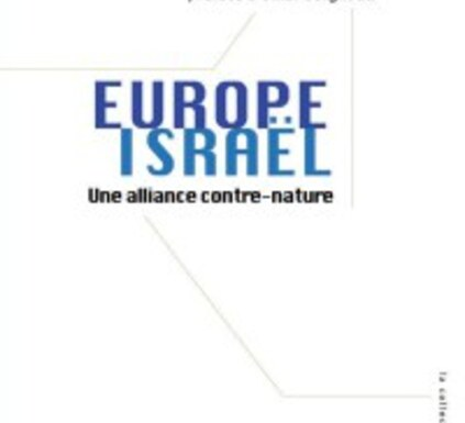 europe israel david cronin alliance contre nature