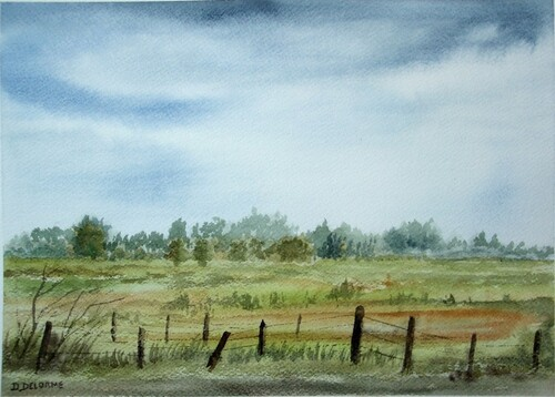 Petit paysage en Baie de Somme