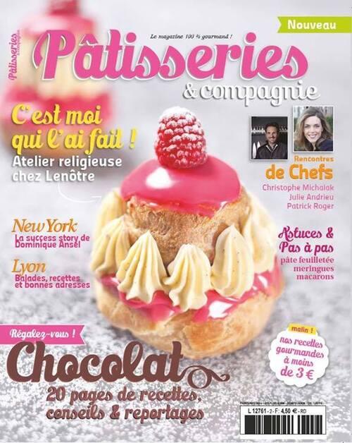 Nouveau magazine : Pâtisseries & Compagnie