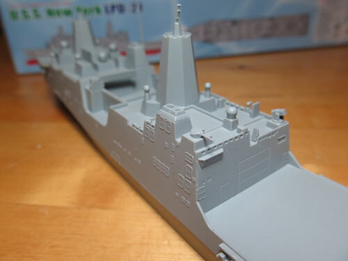 L'USS New York Cyber Hobby