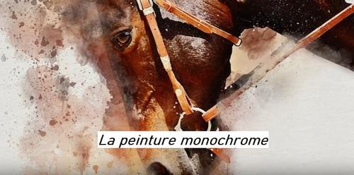 Dessin et peinture - vidéo 2973 : Comment peindre en monochromie ? - acrylique ou huile.