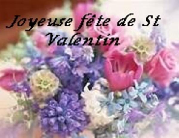 FETE DE ST VALENTIN !!!