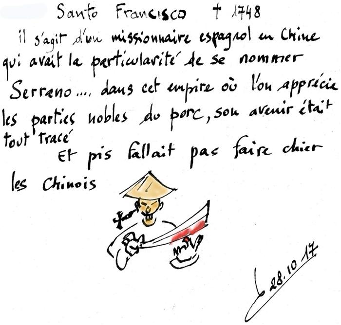 Saint du jour /François Serrano