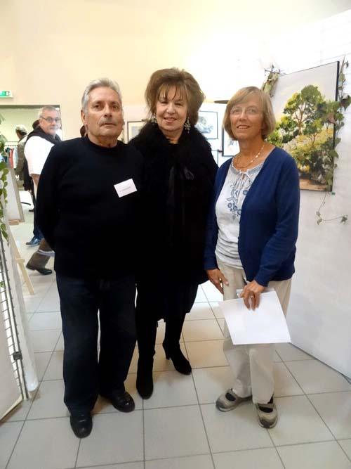 Henri Vincenot, et sa fille Claudine, ont été les invités d'honneur du Salon d'Automne 2016 de Chamesson