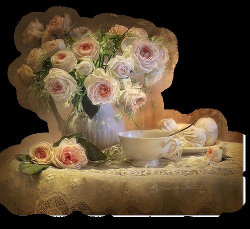 Mes Tubes Fleurs en Vase