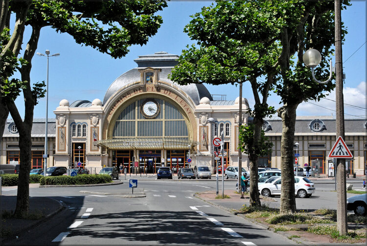 Photo de la gare de Rochefort sur Mer