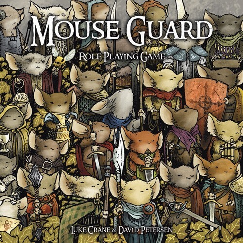Mouse Guard RPG Cover