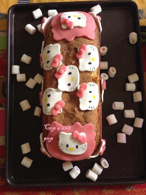 ♥ Cake amande et fleur d'oranger ♥