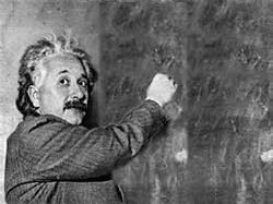 Einstein...
