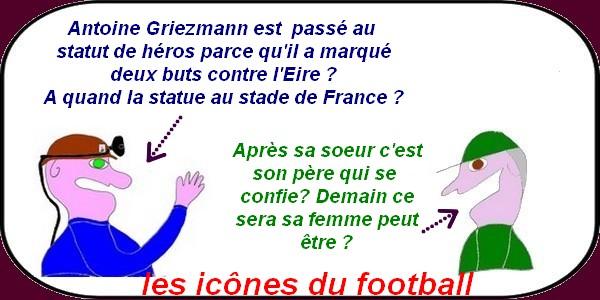 Tandis que des héros du football naissent les syndiqués manifestent à Paris contre la loi de la connerie!