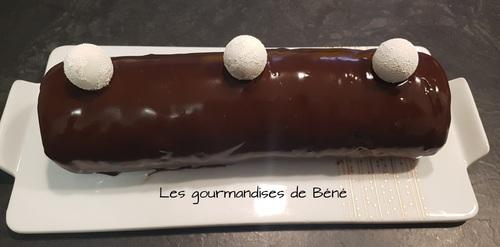 Bûche roulée chocolat
