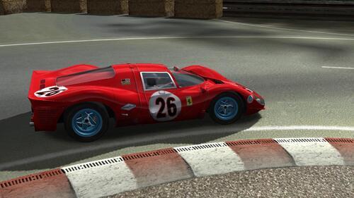 Ferrari 330P (412P) de 1967  (Proto A2)