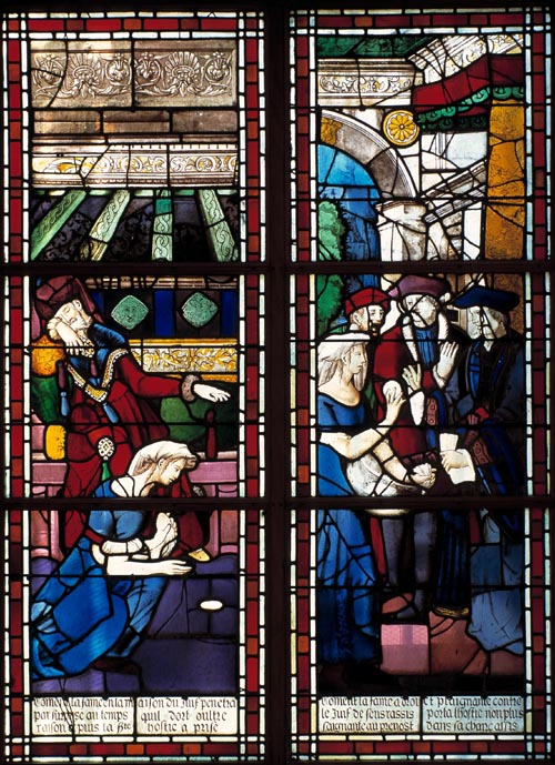 Miracle Eucharistique Paris, Les Billettes, 1290