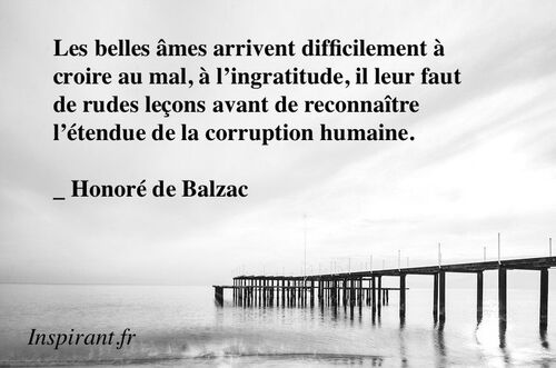 CITATIONS D'AUTEURS : Balzac