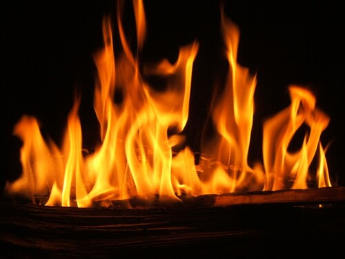 Réflexion sur le feu