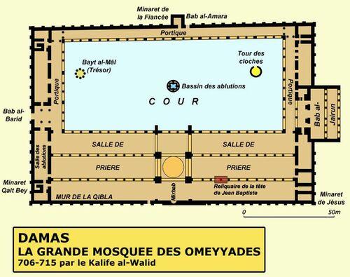La Grande Mosquée des Omeyyades de Damas, Syrie 2005