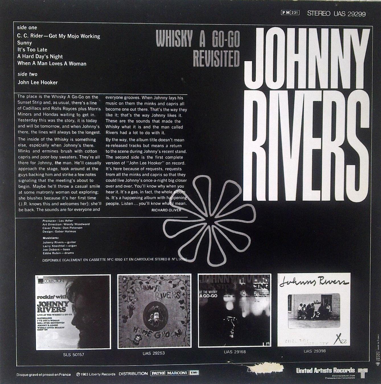 Une madeleine auditive: Johnny Rivers - John Lee Hooker (1967)