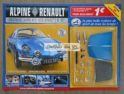 N° 1 Construisez l'Alpine reanult A110 Berlinette de 1971