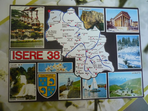 Echange cartes de nos régions