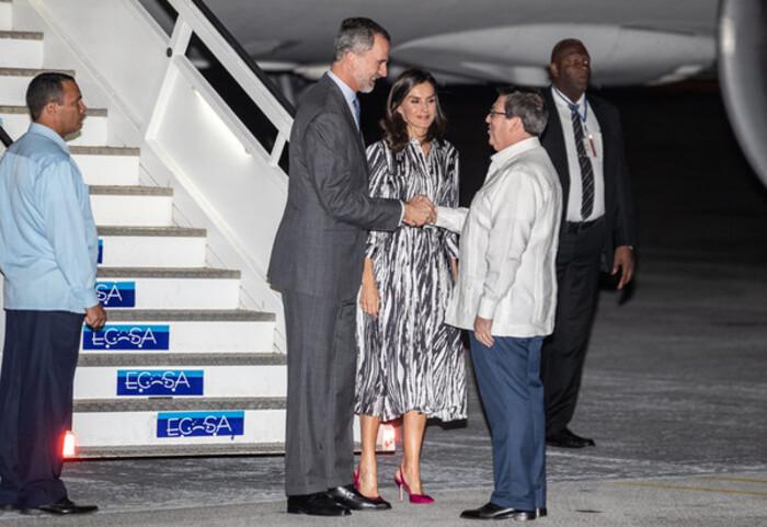 Arrivée du couple royal à Cuba - 2