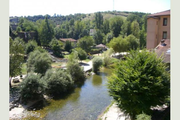 La rivière de la Bourne