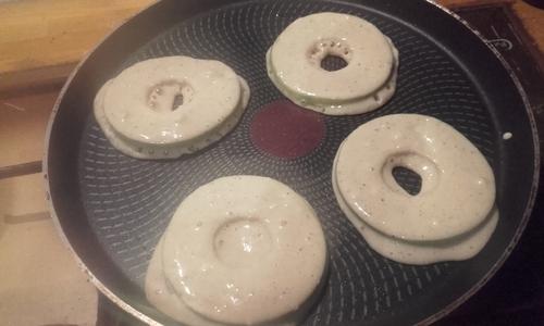 Pancakes à la pomme {Vegan}