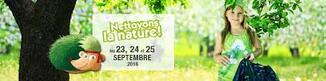 Opération nettoyons la nature.