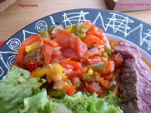 La Peperonata (ratatouille italienne