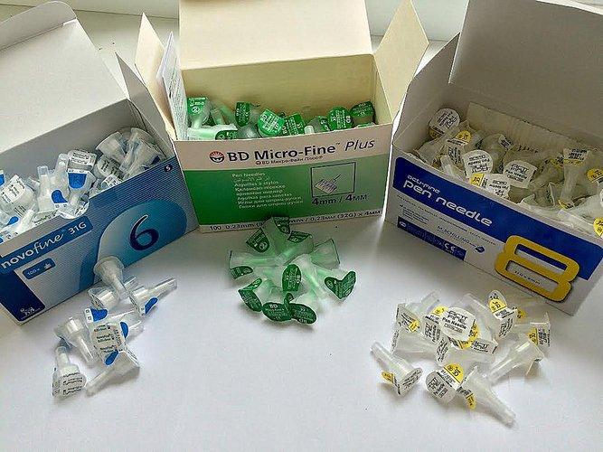 Иглы 10 мм для инсулиновых ручек