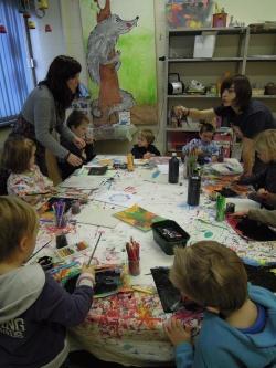 """Novembre 2012      Les ateliers et l'exposition """"Ainsi font les marionnettes"""""""
