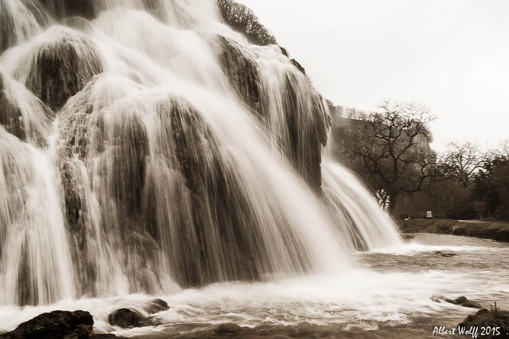 Sortie sous la pluie pour voir de l'eau... suite et fin