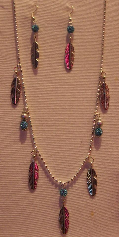 Exposition de mes bijoux country au bal de Luynes